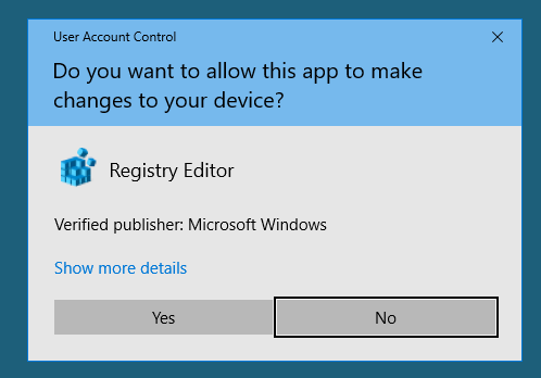 Microsoft User Account Control